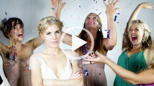 Een-videozuil-met-de-bruid